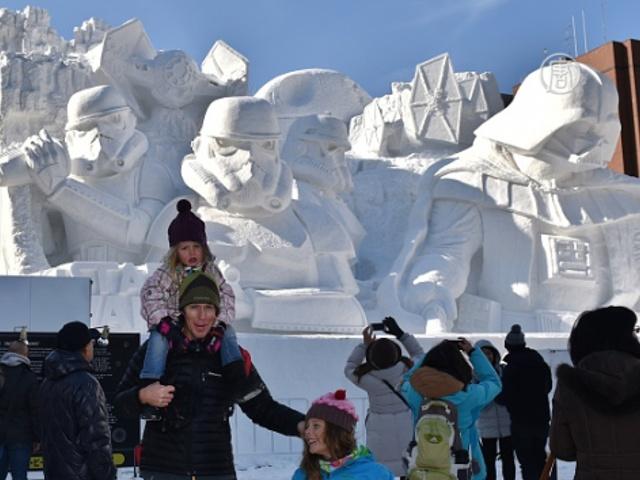 В Японии стартовал 66-й Снежный фестиваль