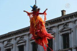 «Полёт ангела» украсил Венецианский карнавал