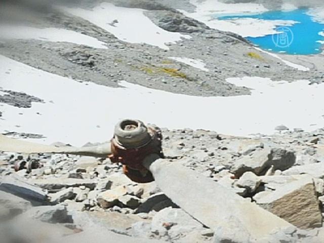 В Андах нашли самолет, пропавший 54 года назад