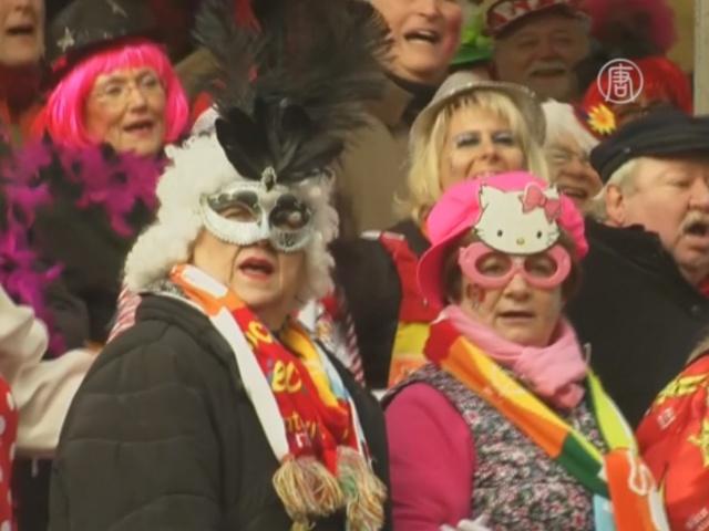 Рейнский карнавал стартовал в Кёльне