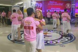 Рекорд по самому длинному танцу бьют в Таиланде