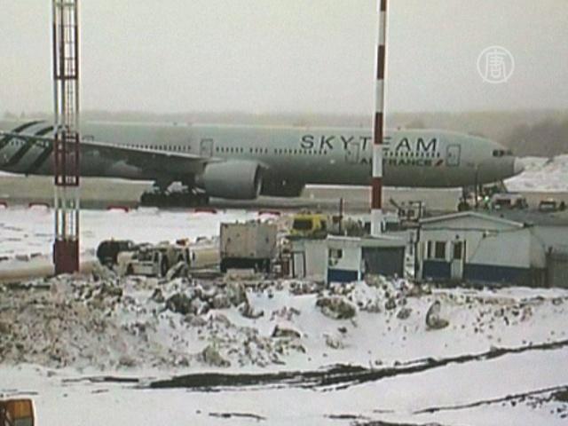 Самолет Air France экстренно сел на Урале