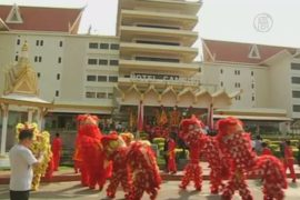 Китайцы в Камбодже готовятся к Новому году