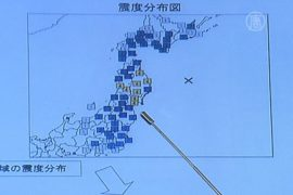 Япония: угроза цунами после землетрясения снята
