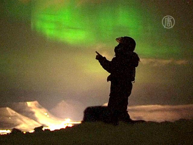 «Охотники за Северным сиянием» снимают фильм