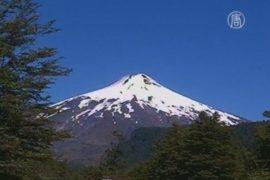 В Чили активизировался вулкан Вильяррики