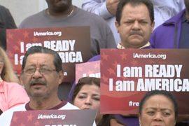 В США митингуют в защиту иммиграционной реформы