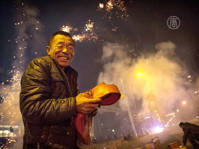 Китайцы встречают год овцы