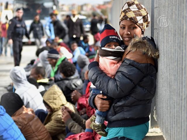Лампедуза не справляется с притоком беженцев