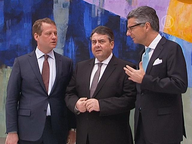 В Берлине обсудили торговое соглашение между ЕС и США