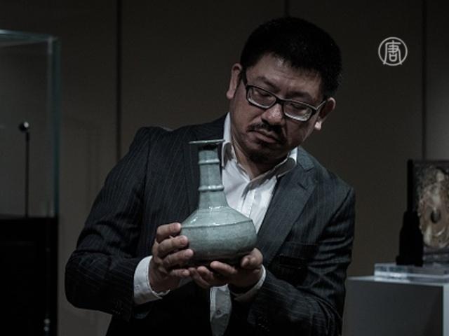 700-летняя китайская ваза уйдет с молотка