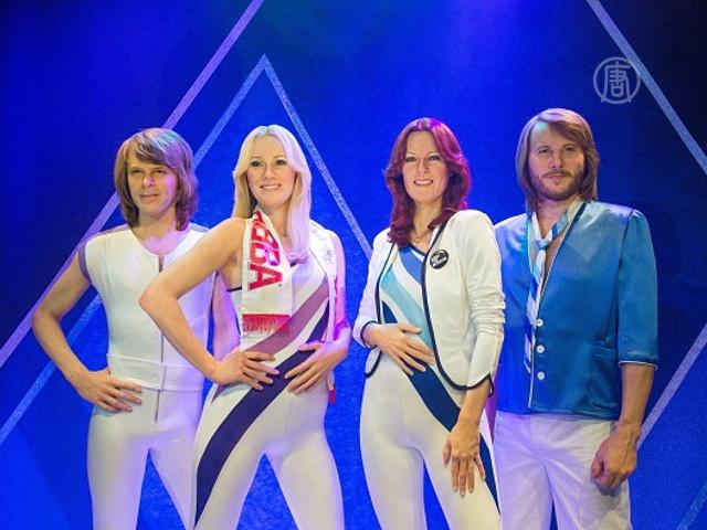 Фигуры участников группы ABBA в музее Стокгольма