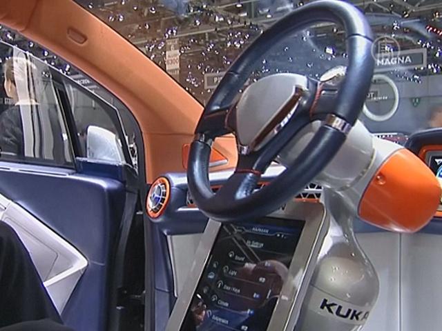 В Женеве презентуют робомобиль с автопилотом