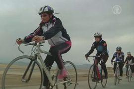 Нелегка жизнь афганских велосипедисток