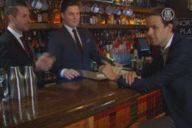 Лондон: в бомбоубежище открыли стилизованный бар