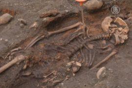 Тысячи останков нашли при строительстве метро