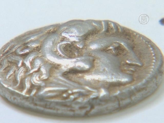 В Израиле нашли клад времен Македонского