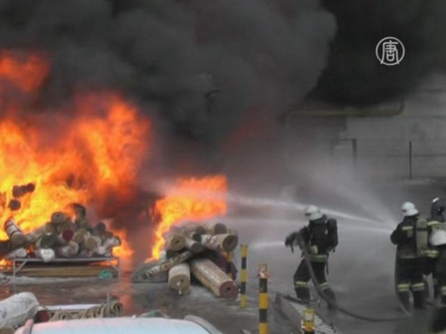 Пожар в ТЦ в Казани унес жизни 4 человек
