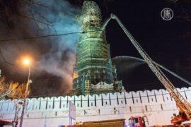 Новодевичий монастырь потушили