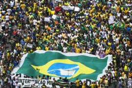 Власти Бразилии отреагировали на протест миллионов