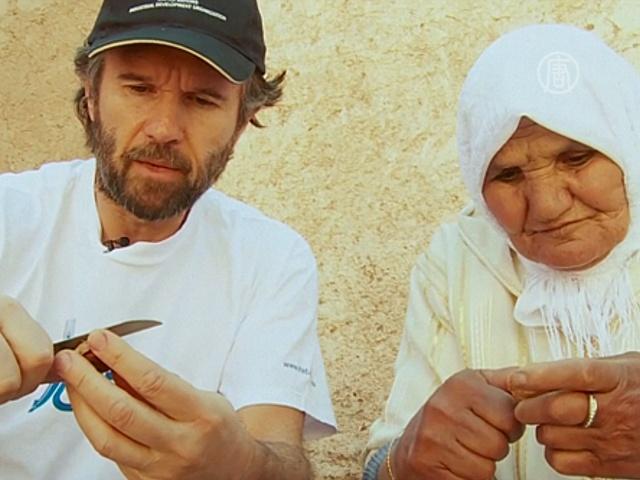 Шеф-повар учится готовить у бабушки из Марокко