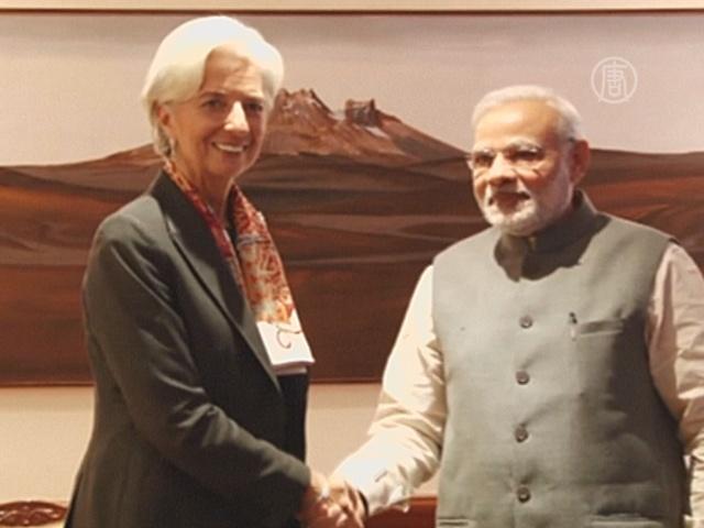 Глава МВФ похвалила Индию за подъём экономики