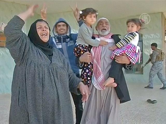 В пригород Тикрита, отбитый у ИГИЛ, вернулись люди
