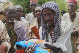 В отбитый у «Боко Харам» город привезли еду