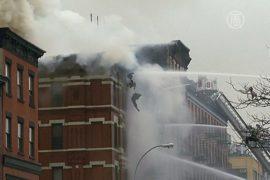 В Нью-Йорке из-за взрыва обрушилось жилое здание