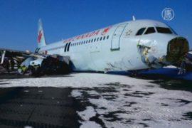 Причину аварии с Airbus A320 в Канаде выясняют
