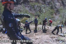 В Альпах продолжают искать тела жертв авиакатастрофы