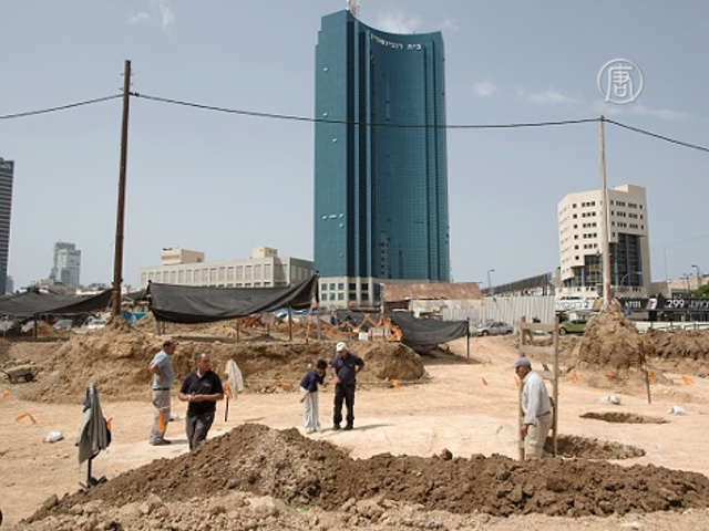 Тель-Авив: найдены черепки возрастом 5000 лет
