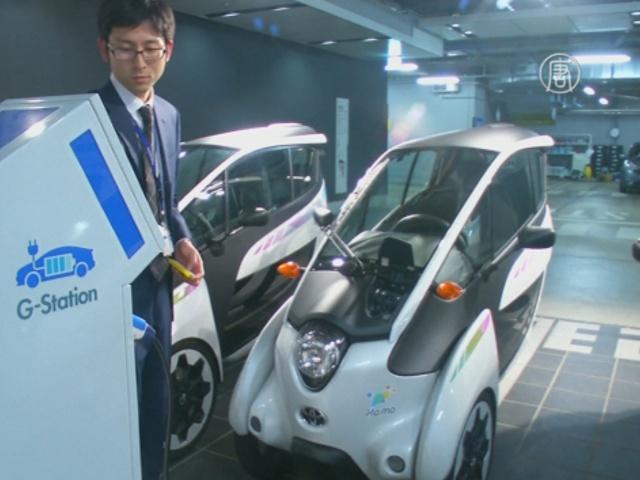 Электрокары i-Road выезжают на дороги Токио