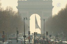 Над Парижем снова навис смог