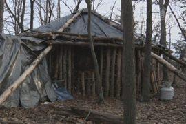 Студент сменил общежитие на хижину в лесу