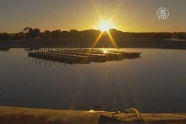Австралия: первая солнечная станция на воде