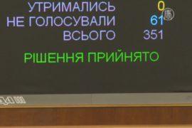 Парламент Украины запретил пропаганду коммунистического и нацистского режимов