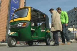 Моторикши появятся на улицах Брюсселя