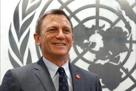 Дэниел Крэйг стал послом ООН по ликвидации мин