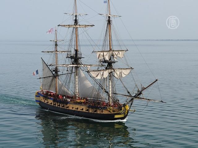 Путь фрегата XVIII века повторит его копия