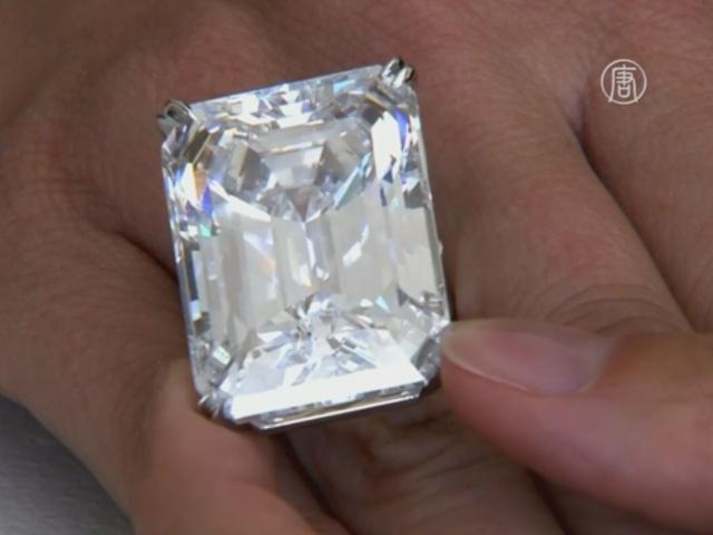 100-каратный бриллиант продали за $22,1 млн