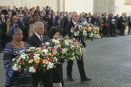 В Бельгии вспоминали жертв первой газовой атаки