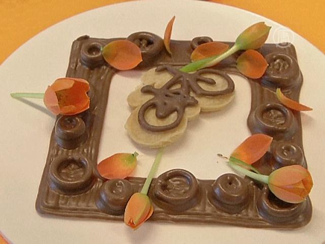 Выставка напечатанной еды состоялась в Нидерландах
