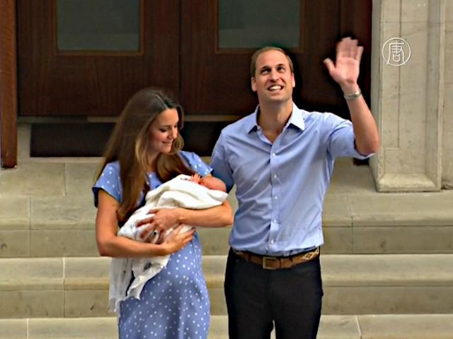 Британцы делают ставки на имя наследника