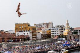 В экстремальных прыжках со скал победил британец