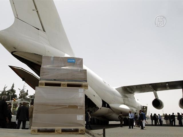 ЮНИСЕФ направил медикаменты больницам Йемена