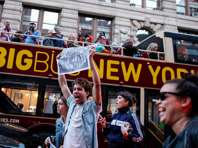 Ньюйоркцы поддержали Балтимор протестом