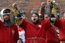 В Польше прошли рыцарские бои