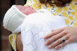Принцессу назвали Шарлотта Елизавета Диана