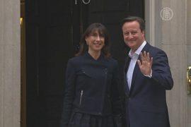 Выборы в Великобритании: победу одерживает Кэмерон